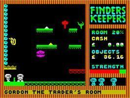 Finders Keepers (1985 video game) Finders Keepers Sinclair ZX Spectrum Games Database