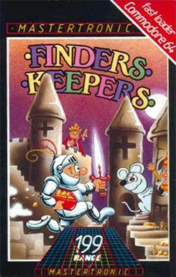 Finders Keepers (1985 video game) httpsuploadwikimediaorgwikipediaen114Fin