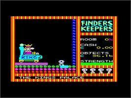 Finders Keepers (1985 video game) Finders Keepers Amstrad CPC Games Database
