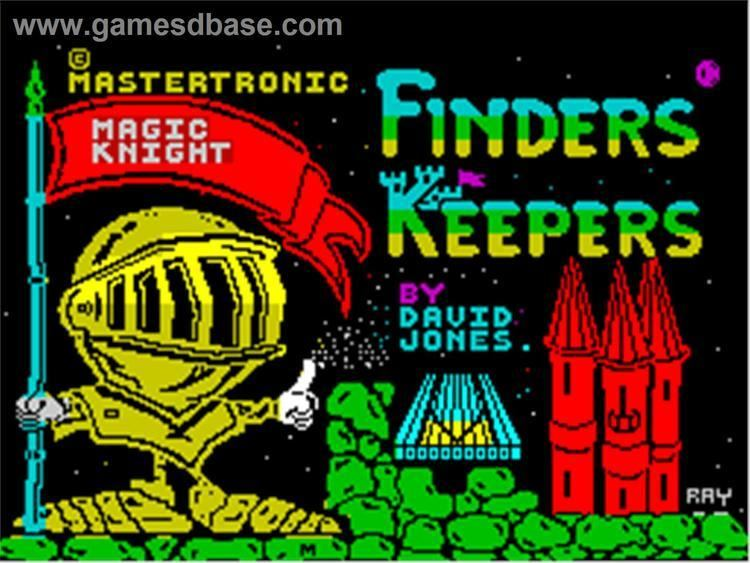 Finders Keepers (1985 video game) 1000 images about Zx spectrum on Pinterest Arcade games Finders
