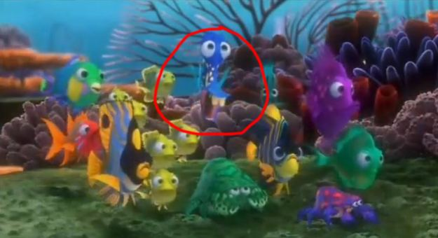 Finding Nemo movie scenes