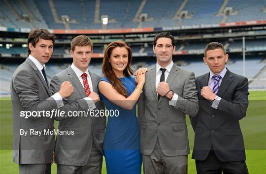 Finian Hanley Sportsfile Launch by TJH Jewellery of their exclusive