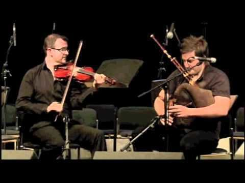 Finlay MacDonald (musician) Chris Stout and Finlay MacDonald Fiddle and Pipes Piping Live