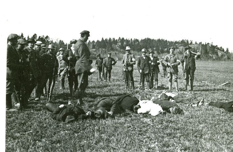 Finnish Civil War Finnish civil war I hope to be remembered for my atrocities