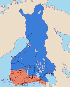 Finnish Civil War Finnish Civil War Wikipedia