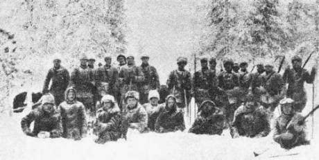 Finnish Civil War Warfare History Blog Finland39s Civil War 1918 Red amp White Suomi