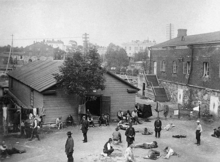 Finnish Civil War prison camps