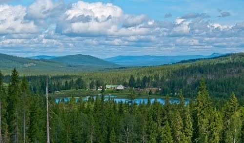 Finnskogen Panoramio Photo of Finnskogen lake Tysken