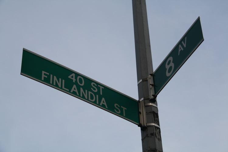 Finntown (Brooklyn, New York) The days of Finntown Finland Center of New York