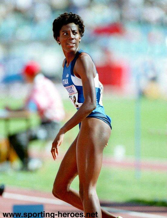 Fiona May Fiona May 1995 World Long Jump champion Italy