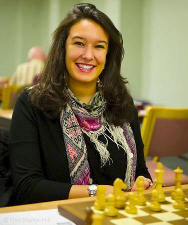 Fiona Steil-Antoni Fiona SteilAntoni Simultaneous Yorkshire Chess