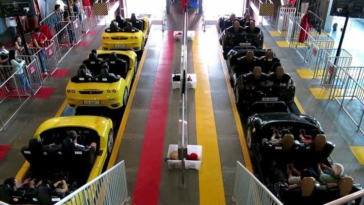 Fiorano GT Challenge Video test Canon PowerShot G15 Ferrari World Fiorano GT Challenge