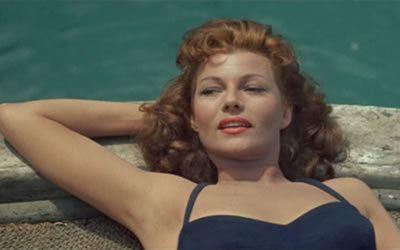 Fire Down Below (1957 film) Fire Down Below 1957 starring Rita Hayworth Robert Mitchum Jack