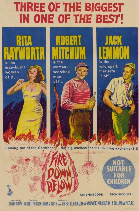 Fire Down Below (1957 film) Fire Down Below Movie Posters From Movie Poster Shop