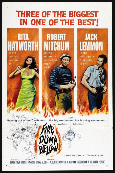 Fire Down Below (1957 film) RITA HAYWORTH The Love Goddess Page 167 The Silver Screen Oasis