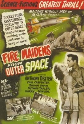 Fire Maidens from Outer Space Fire Maidens of Outer Space Bluray DVD Talk Review of the Bluray