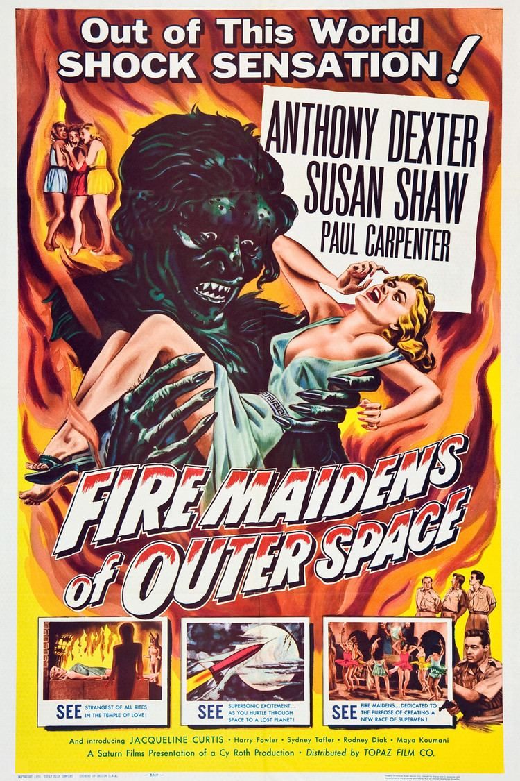 Fire Maidens from Outer Space wwwgstaticcomtvthumbmovieposters42089p42089