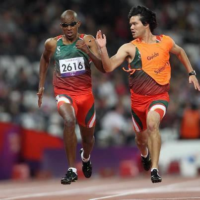 Firmino Baptista Firmino Baptista apurase para semifinal dos 100m T11