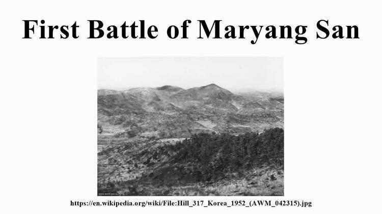 First Battle of Maryang San First Battle of Maryang San YouTube