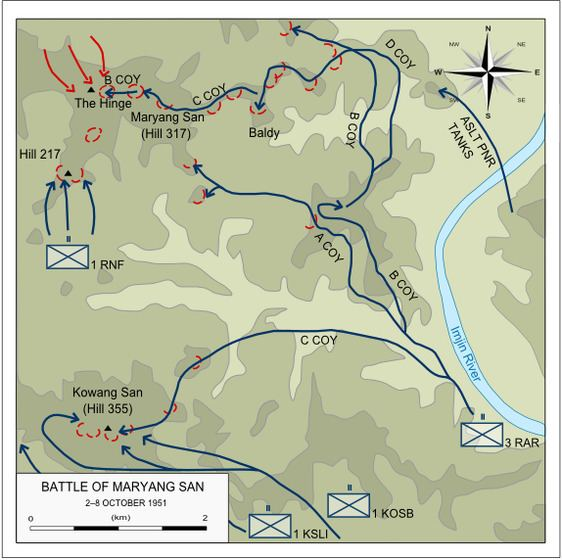 First Battle of Maryang San First Battle of Maryang San Wikiwand