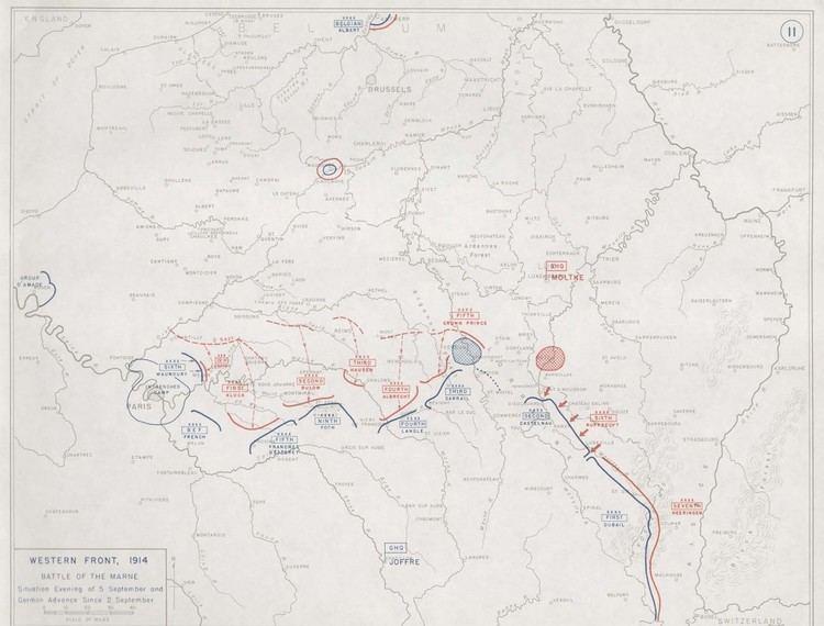 First Battle of the Marne First World Warcom Battles The First Battle of the Marne 1914