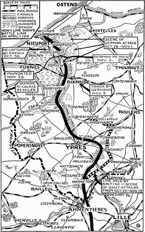 First Battle of Ypres First Battle of Ypres in World War I