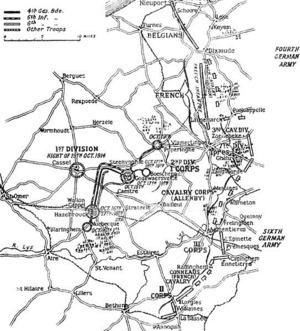 First Battle of Ypres First Battle of Ypres Wikipedia