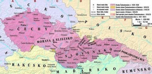 First Czechoslovak Republic GET TO KNOW THE CZECH REPUBLIC