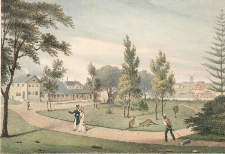 First Government House, Sydney On firm foundations Sydney Living Museums