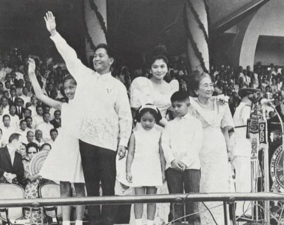 First inauguration of Ferdinand Marcos