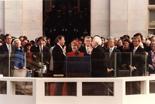 First inauguration of Ronald Reagan