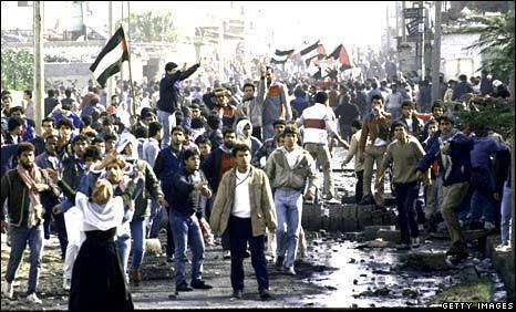 First Intifada BBC NEWS Middle East 1987 First Intifada