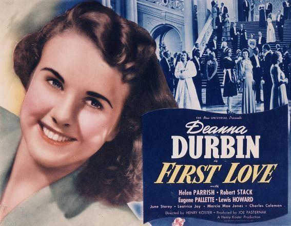 First Love (1939 film) FIRST LOVE