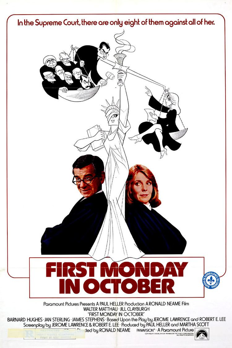 First Monday in October (film) wwwgstaticcomtvthumbmovieposters3379p3379p