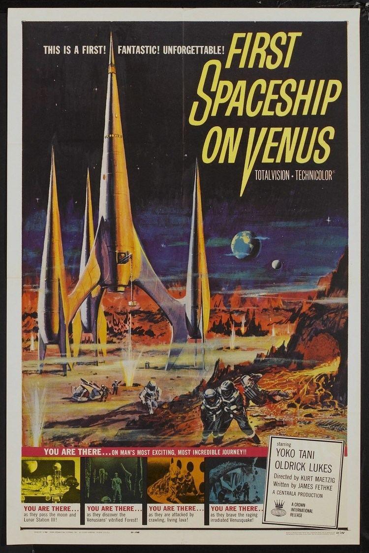 First Spaceship on Venus - Alchetron, the free social