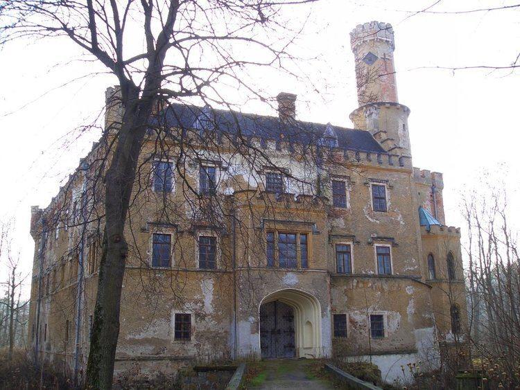 Fischbach Castle Panoramio Photo of Poland Karpniki Fischbach Castle