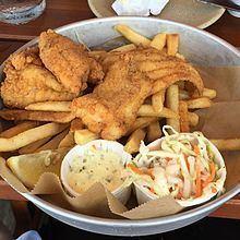 Fish and chips httpsuploadwikimediaorgwikipediacommonsthu