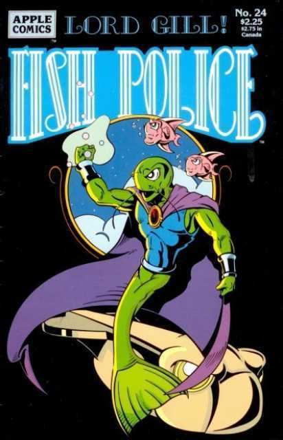 Image result for apple press fish police comic