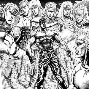 Fist of the North Star List of Fist of the North Star characters Wikipedia