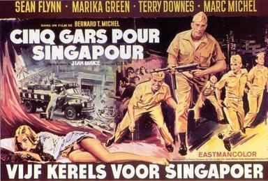 Five Ashore in Singapore movie poster