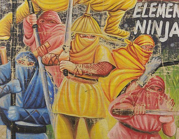 Five Element Ninjas FIVE ELEMENT NINJA African marketing Vintage Ninja