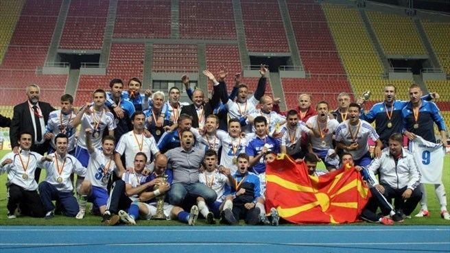 FK Teteks Relegated Teteks lift Macedonian Cup UEFAcom