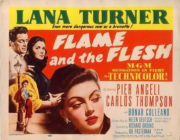Flame and the Flesh movie poster