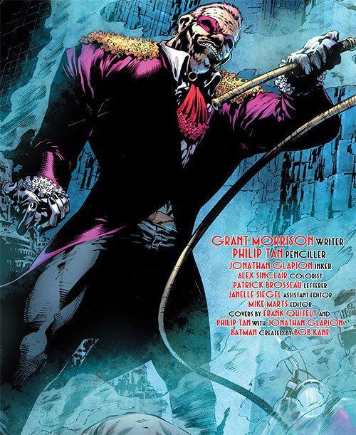 Flamingo (comics) Flamingo DC Comics Batman enemy Grant Morrison Profile