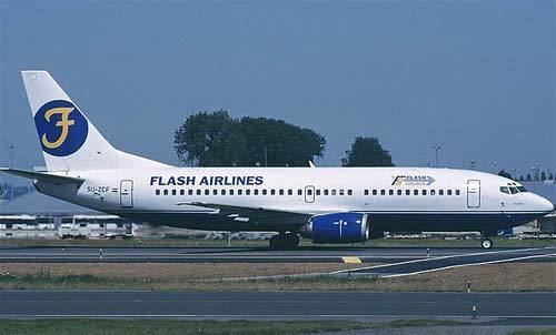 Flash Airlines Flight 604 Accident of a Boeing 737 operated by Flash Airlines Sharm el