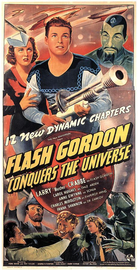 Flash Gordon Conquers the Universe Flash Gordon Conquers The Universe Photograph by Everett