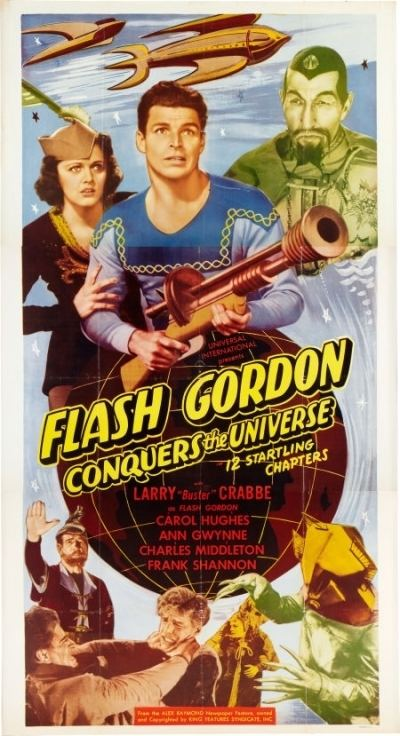 Flash Gordon Conquers the Universe REVIEW FLASH GORDON CONQUERS THE UNIVERSE kevinfoyle