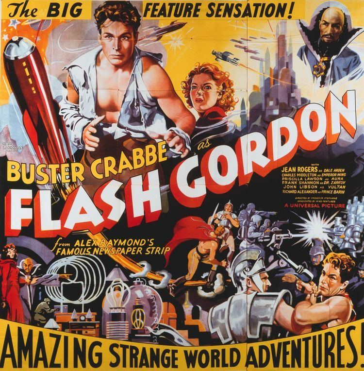 Flash Gordon (serial) The goofy 1930s serials that inspired Star Wars