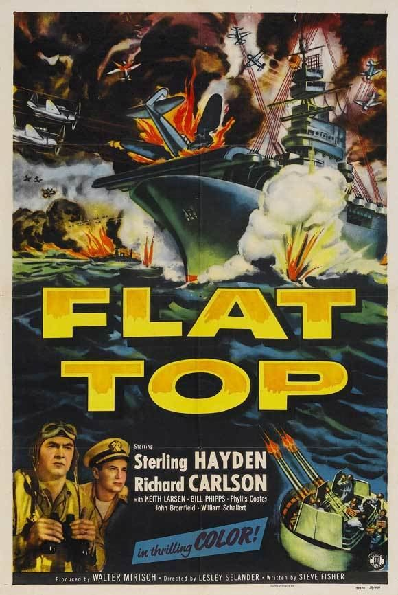 Flat Top (film) 1952 Movie Posters Flat Top Movie Posters From Movie Poster Shop