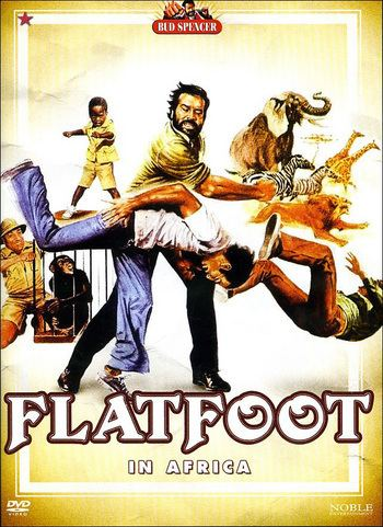 Flatfoot in Africa Flatfoot in Africa DVD Discshopse